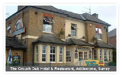The Crouch Oak bar and hotel, Addlestone, Surrey